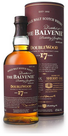 Balvenie Scotch Single Malt Doublewood 17 Yrs
